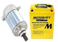 Starter Battery Kit For Polaris Sportsman 400 425cc Engine 2001-2005