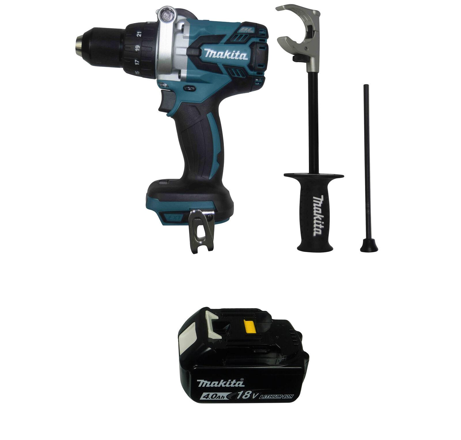 Makita XPH07Z 18V 1/2 in. Hammer Driver Drill w/ BL1840B 18V 4.0Ah Battery. Buy it now for 153.95