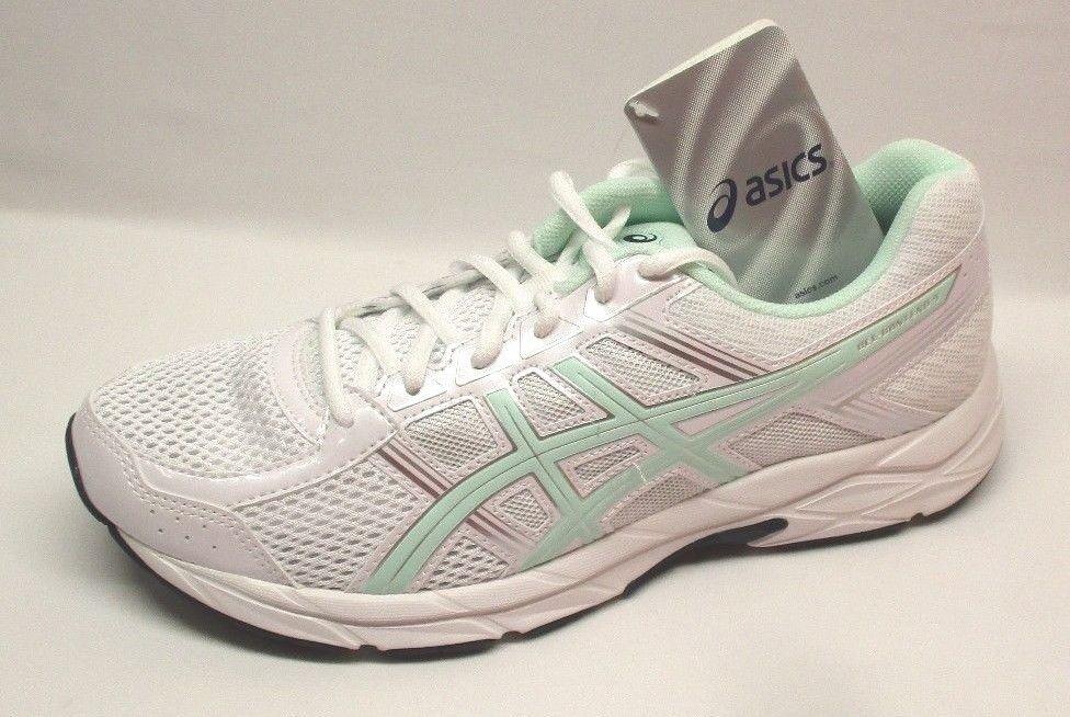 Asics Women's Gel-Contend 4 Running Shoe, White/Bay/Silver