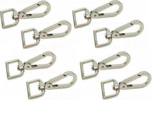 8 x Lanyard Hook Swivel Snap For Paracord Lobster Clasp Clips Dog Leash Best Qua
