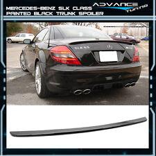 05-10 Benz SLK Class R171 2Dr AMG ABS Trunk Spoiler OEM Painted Color Black #040
