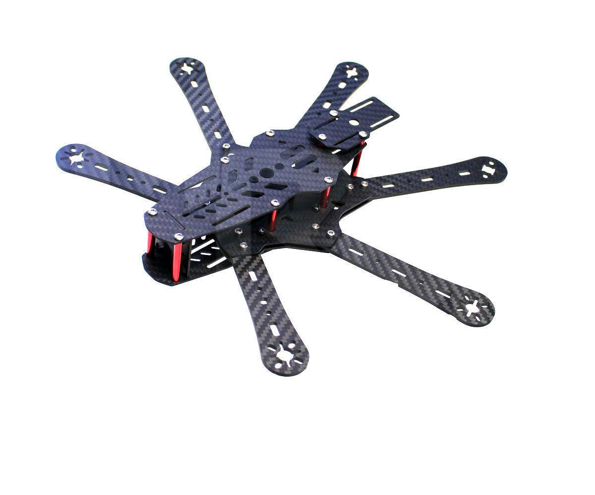 nuovo mini 330 hexacopter 100% pure autobon Fiber FPV Hexacopter  Kit  Ritorno di 10 giorni