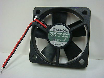 A 1 SUNON KDE0505PFB3-8 5V DC 0.4W BRUSHLESS 50X50X10mm 7.2 CFM 22 dB FAN