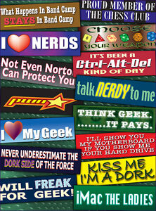 Lot of 100 Pieces - Funny, Rude Novelty Assorted Bumper Stickers + FREE SHIPPING