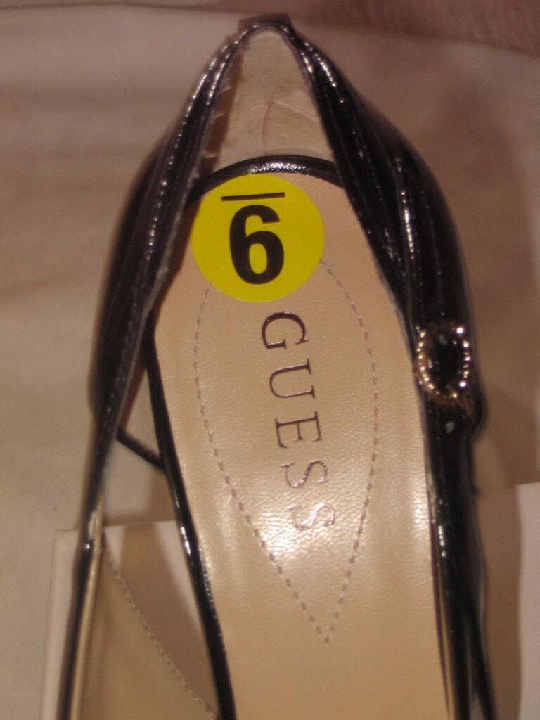 GUESS BLACK Schuhe PATENT PUMPS CLASSICS WOMEN Schuhe BLACK SZ 9 NEW b27a31
