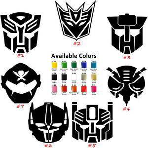 Transformer Logos Vinyl Decal Sticker Car Window Design Laptop - Decal stickers for cars
