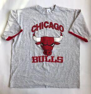 1a7fe8056de6d4 Artex Chicago Bulls Men's NBA T Shirt XL Made in USA Worn Vintage   eBay