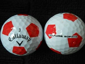 10-CALLAWAY-034-HEX-CHROME-SOFT-034-with-034-RED-TRUVIS-034-034-A-MINUS-B-PLUS-034-Grades