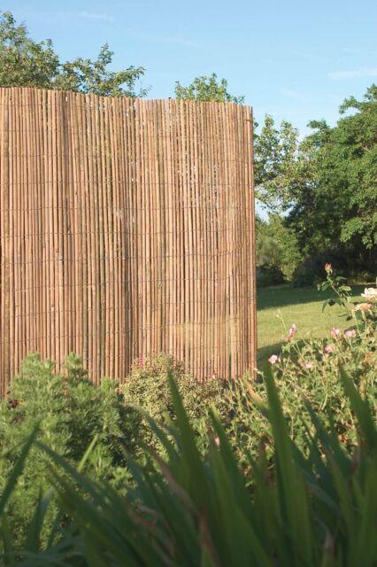 Bamboo Roll Screen Garden - Garden Inspiration