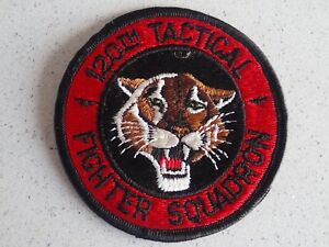 1970s-Vietnam-US-AIR-FORCE-PATCH-120th-Tactical-Fighter-Squadron-USAF
