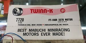 1-Vintage-AJ-039-s-Twinn-K-Mabuchi-Miniracing-Slot-Car-1-32th-scale-Engine-Motor