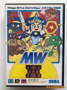 WONDERBOY-V-Monster-World-3-MD-Sega-Megadrive-JAPAN