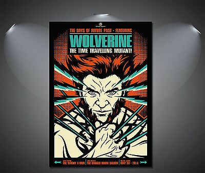 The Wolverine Vintage Art Deco Poster - A1, A2, A3, A4 sizes