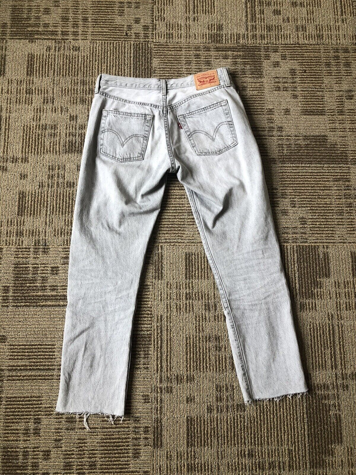 Levis 501 Red Tag Distressed Jeans Size 29 - image 2