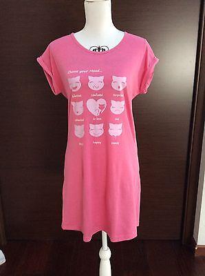 Yamamay Camicia Da Notte Rosa Size S Ebay