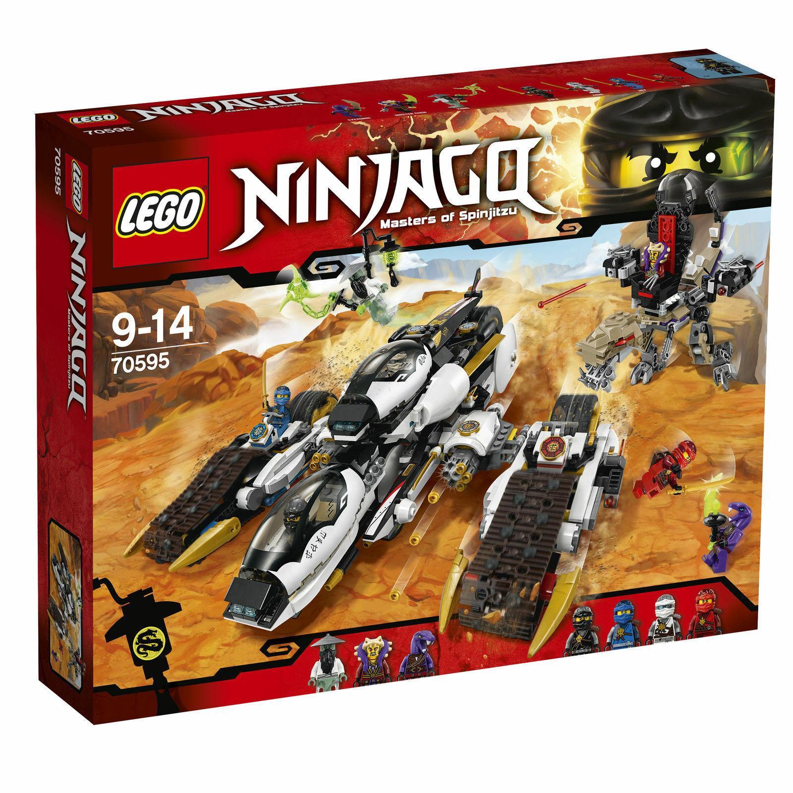 Lego ®  Ninjago ™ 70595 ultra-stealth Vehicle  4-in1 - VEHICLE nouveau OVP nouveau MISB  la meilleure sélection de