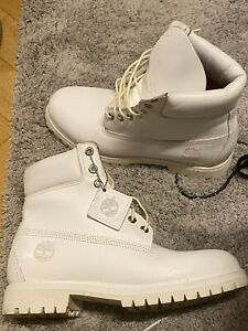 Timberland hommes Size 10 US 44EU White  Boots
