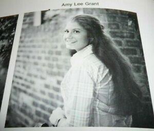 Amy-Grant-Senior-High-School-Yearbook-1978-Rare