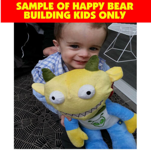 Happy Birthday T Shirt Clothing Outfit by Stufflers Fits Medium 40cm Plush Toy
