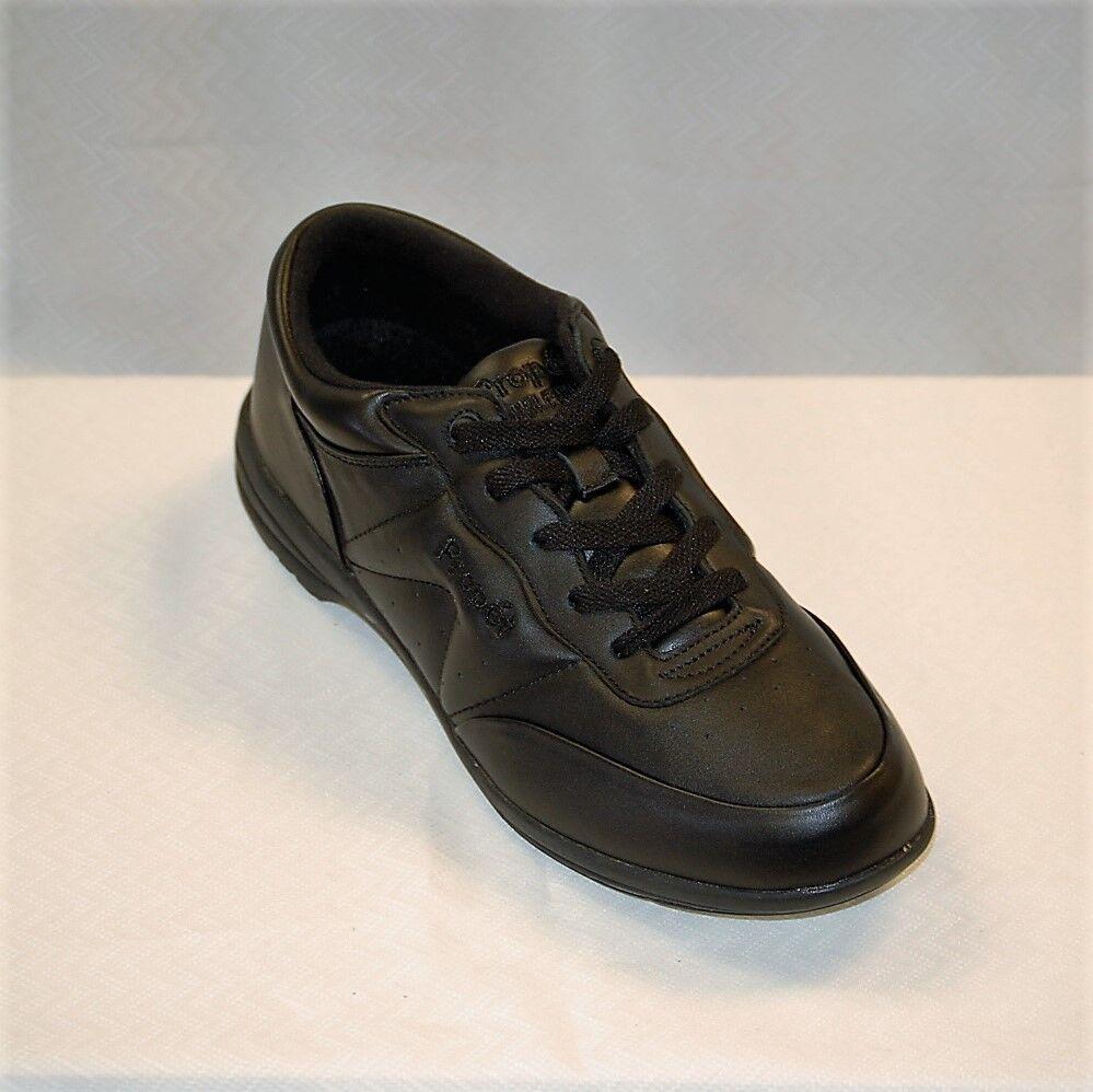 Propet W3840 Black Leather Washable Walker  Women's size 7.5 M diabetic A5500