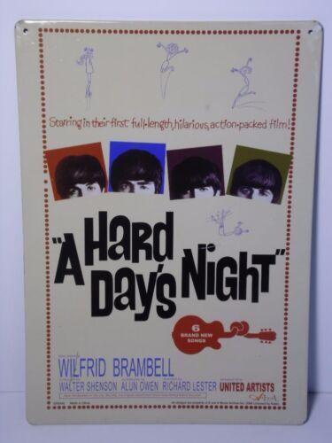 2006 THE BEATLES A HARD DAY'S NIGHT ADVERTISING SIGN JOHN LENNON PAUL MCCARTNEY
