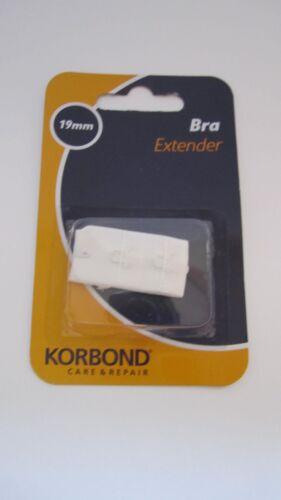 Korbond Bra Extender 19mm White Freepost