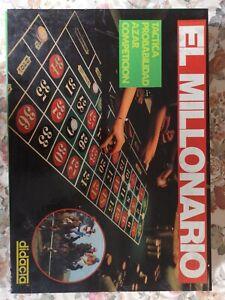 didacta el millonario juego De Mesa Vintage
