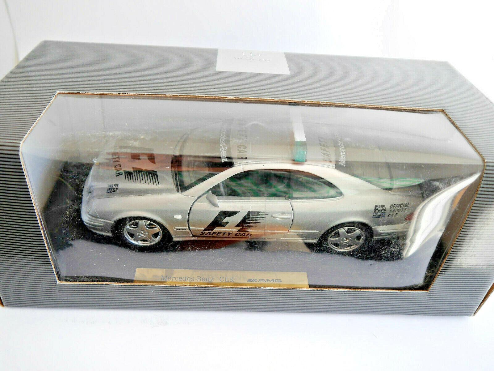 Mercedes C 208 CLK AMG FIA F1 Safety voiture, Anson  MB  B6 600 5234 in 1 18 Dealer  point de vente