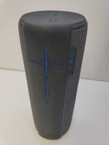 UE MEGABOOM Bluetooth Speaker Charcoal Black Defective, For Parts Only