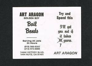 Rare boxing business card art aragon the golden boy boxer van nuys image is loading rare boxing business card art aragon the golden reheart Choice Image