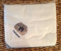 Embroidered Personalized Pekingese Fleece Throw Dog Breed Lover Blanket