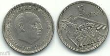 General Franco 5 pesetas 1957 * 60