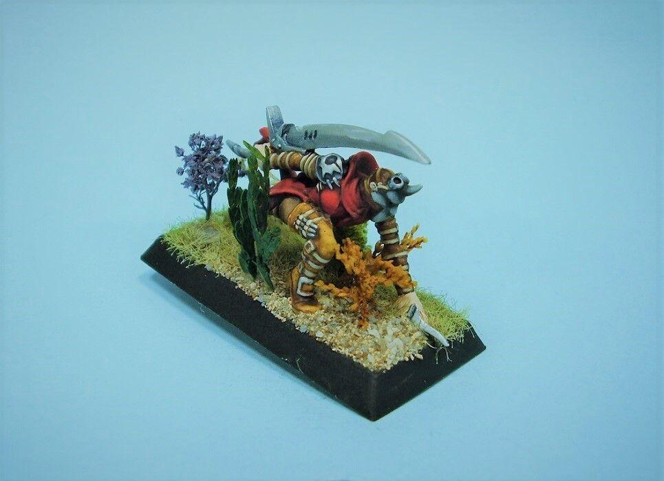 Confrontación Pintado Miniatura Griffin Verdugo