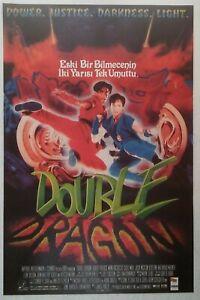 Double Dragon 1994 Robert Patrick Sci Fi Vintage Movie Poster Ebay