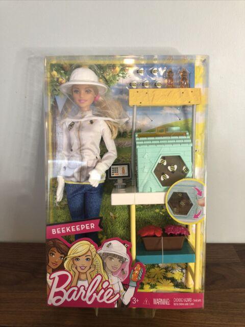 Beekeeper Barbie, Doll Playset, Career Barbie, Mattel BRAND NEW SEALED