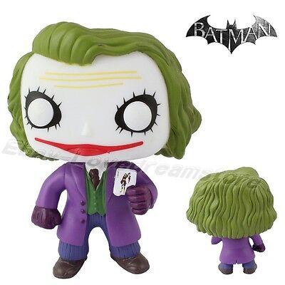 "Pop! Hero The Dark Knight Joker 10cm/4"" PVC Vinyl Figure New In Box #36"