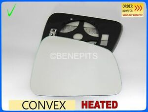 Right Driver side wing mirror glass for Vauxhall Mokka 2012-2017 heated