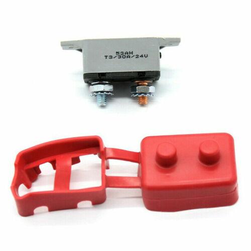 10-50A Auto Reset Circuit Breaker Car Automatic Fuse Reset PVC Cover Protect AU