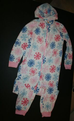 New Gymboree Gymmies Pajamas Snowflake Hooded Fleece 1 Pc Pj/'s NWT 3 4 6 8 12