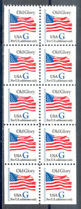 US-Stamp-L136-Scott-2884a-Mint-NH-OG-Blue-034-G-034-Booklet-Pane