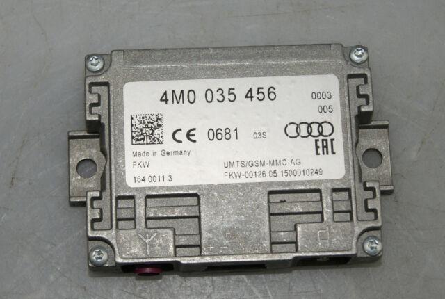 Audi A4 S4 Q7 Tt R8 2-Wege-Signalverstärker Mobile Phone 4M0035456 Original 5381