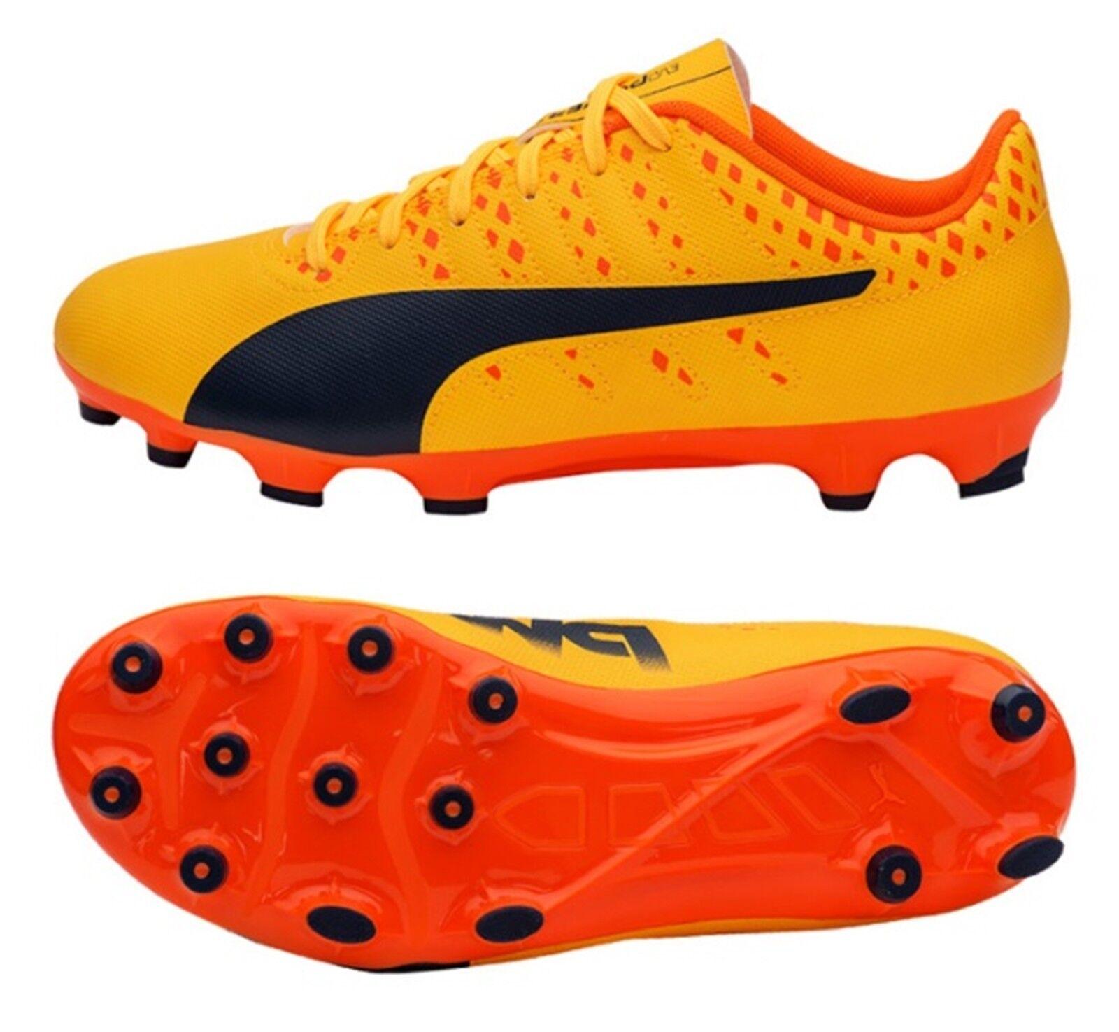 Puma para hombre evoPOWER vigor 4 AG Botines Zapatos De Fútbol De Naranja Spike 103964-03