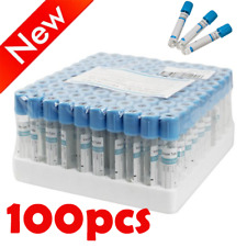 100pcs Glass Buffered Sodium Citrate Blood Collection Coagulation Tubes