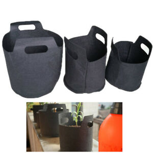 1/2/3Gal Fabric Plant Grow Bag Vegetable Flower Aeration Planting Pot Container