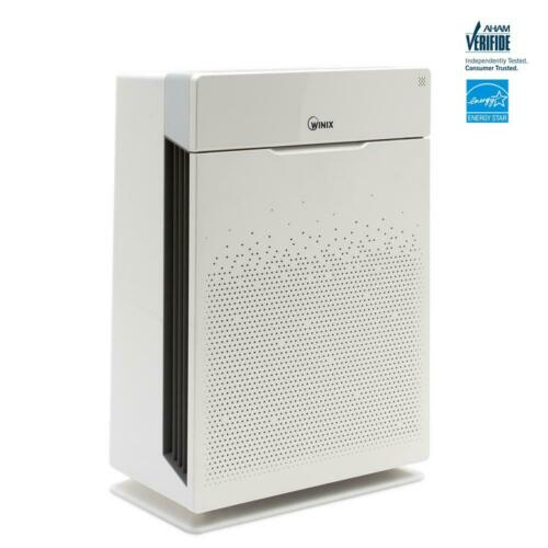 Winix Air Purifier 5-Stage Touch Control Variable Speed Filtered White