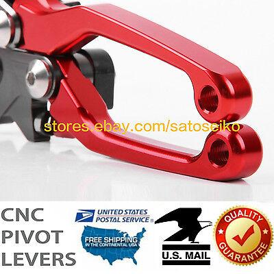 For CRF125 Clutch Brake Levers CNC Pivot Dirt Bike Honda