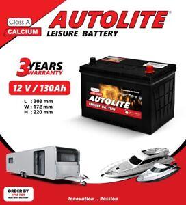 Autolite-130AH-LEISURE-BATTERY-ULTRA-DEEP-CYCLE-FOR-CARAVAN-MOTORHOME-BOAT-SOLAR