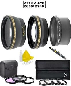 Accessory Lens Kit for Kodak EasyShare Z710 ZD710 Z650 Z740