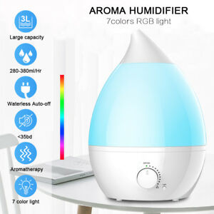 3L-LED-Humidifier-Ultrasonic-Aroma-Essential-Oil-Diffuser-Air-Purifier-Cool-Mist