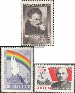 Sowjet-Union-2859-2860-2861-kompl-Ausg-postfrisch-1963-Sondermarken